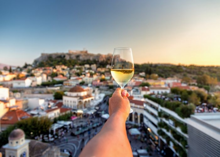 Vineyards and wineries in Athens