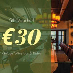 Vintage wine bar bistro athens Voucher 30