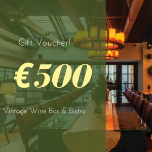 Vintage wine bar bistro athens Voucher 500